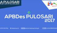 APBDes Pulosari Tahun 2017