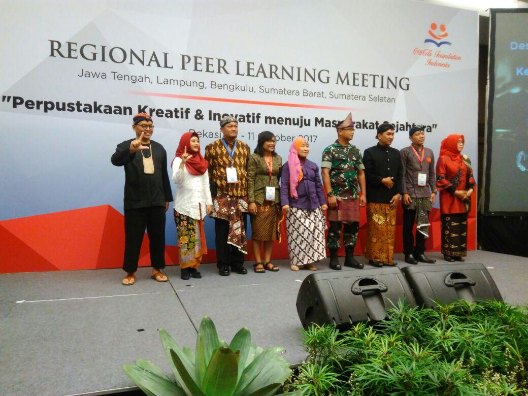 Perpusdes Pulosari menjadi pembuat Video Impact Perpustakaan Terbaik Tingkat Nasional