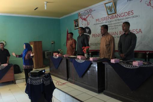 Musrenbangdes 2017 Desa Pulosari